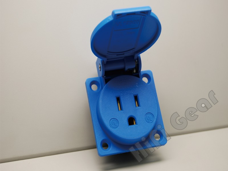 ABL Socket outlet US Blue color - HiFi Gear offer high quality audio